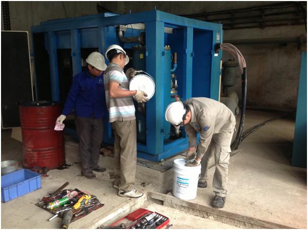 Tiêu chuẩn lắp đặt máy nén khí tại Hà Nội