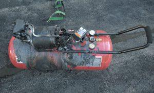 Vì sao máy nén khí lại có thể cháy nổ?